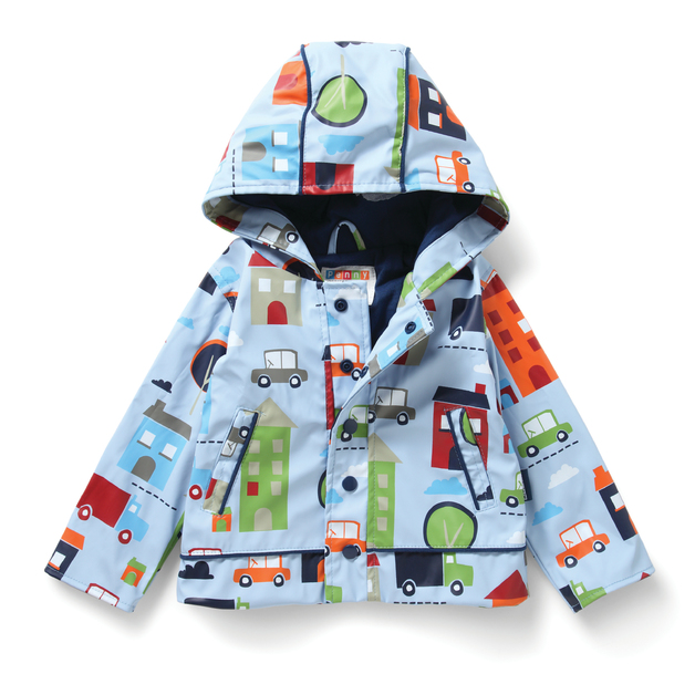 Raincoat Big City - Size 3-4
