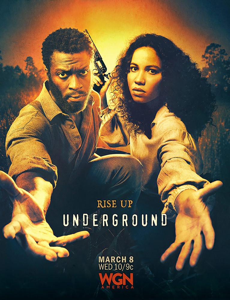 Underground: Season Two on DVD image