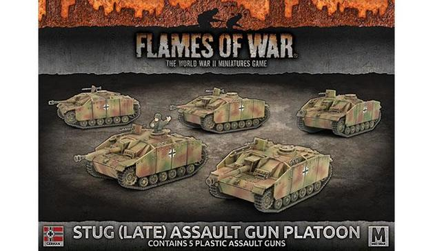 Flames of War: StuG (Late) Assault Gun Platoon