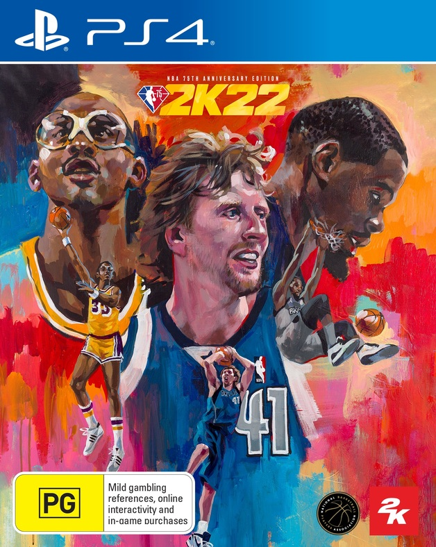 NBA 2K22 75th Anniversary Edition for PS4