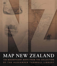 Map New Zealand by Alexander Turnball Library image
