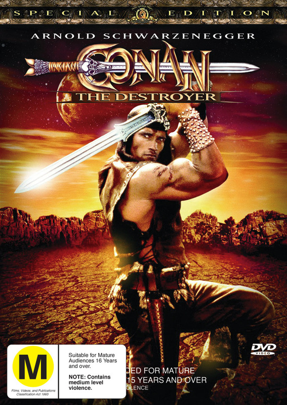 Conan The Destroyer - Special Edition on DVD