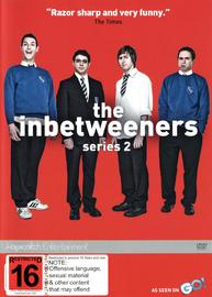 The Inbetweeners - Series 2 on DVD