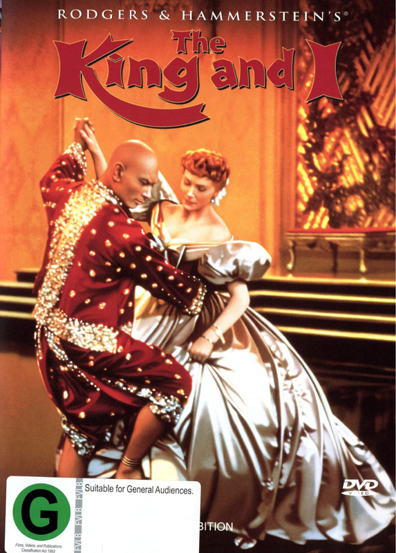 The King and I on DVD