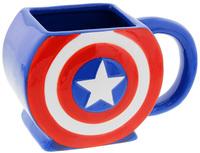 Captain America: Shield 3D Mug