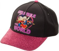 DC Super Hero Girls - Girls Rule Snapback Cap