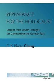 Repentance for the Holocaust by C. K. Martin Chung image