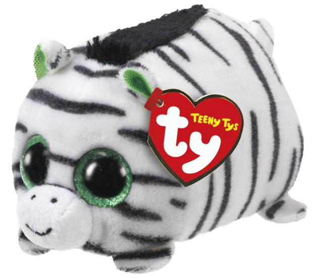 Ty Teeny: Zilla Zebra - Small Plush