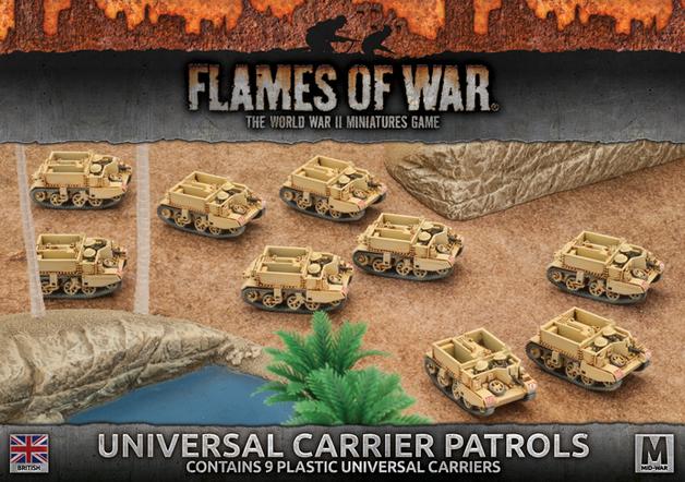 Flames of War: Desert Rats - Universal Carrier Patrol