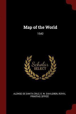 Map of the World by Alonso De Santa Cruz