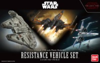 Star Wars: The Last Jedi - Resistance Vehicles Model Kit