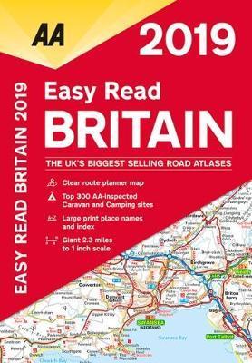 AA Easy Read Britain 2019 by AA Publishing