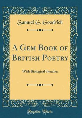 A Gem Book of British Poetry by Samuel G Goodrich image