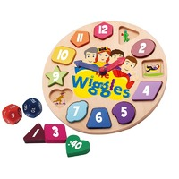 The Wiggles - Wooden Clock Game
