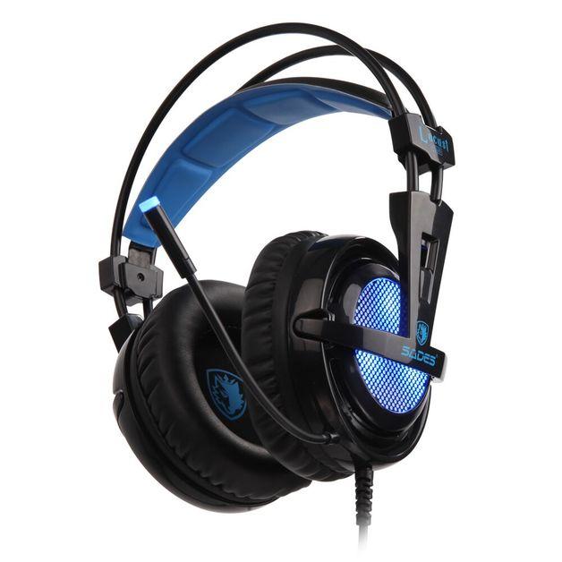 SADES Locust Plus Gaming Headset for PC