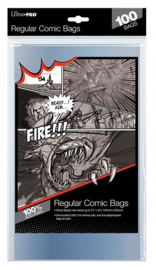 "Ultra Pro: Regular Comic Bags - (7.12"" x 10.5"")"