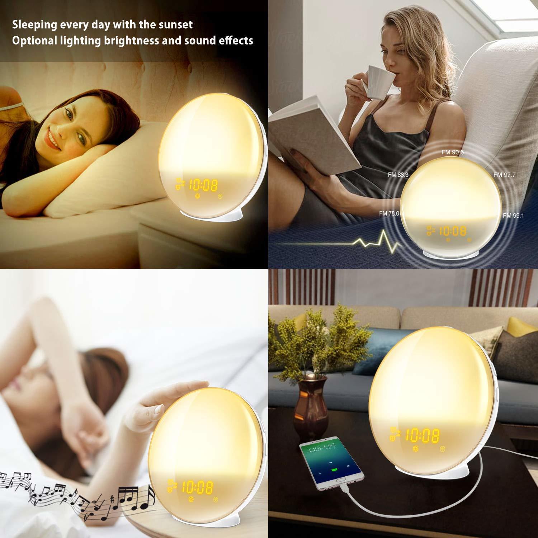 Sunrise Wake Up Light Smart Home Alarm Clock image