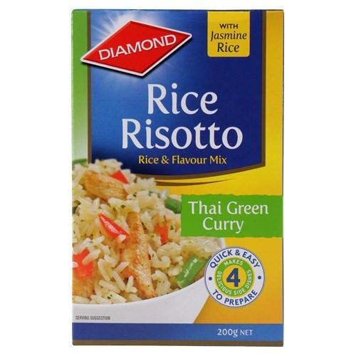 Diamond: Rice Risotto Thai Green Curry 200g (14 Pack) image