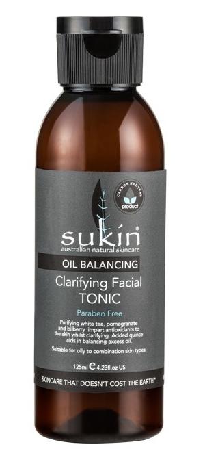Sukin Oil Balancing Clarifying Facial Tonic (125ml) image