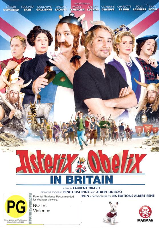Asterix & Obelix in Britain on DVD