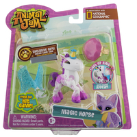 Animal Jam: Magic Horse Figure With Light-up Ring