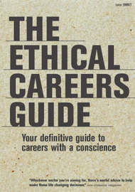 The Ethical Careers Guide by Gideon Burrows image