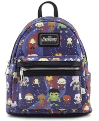 Loungefly x Marvel Avengers Infinity War: Kawaii Print - Mini Backpack