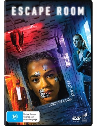 Escape Room (2018) on DVD image