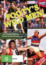 Footy's Wild Men on DVD