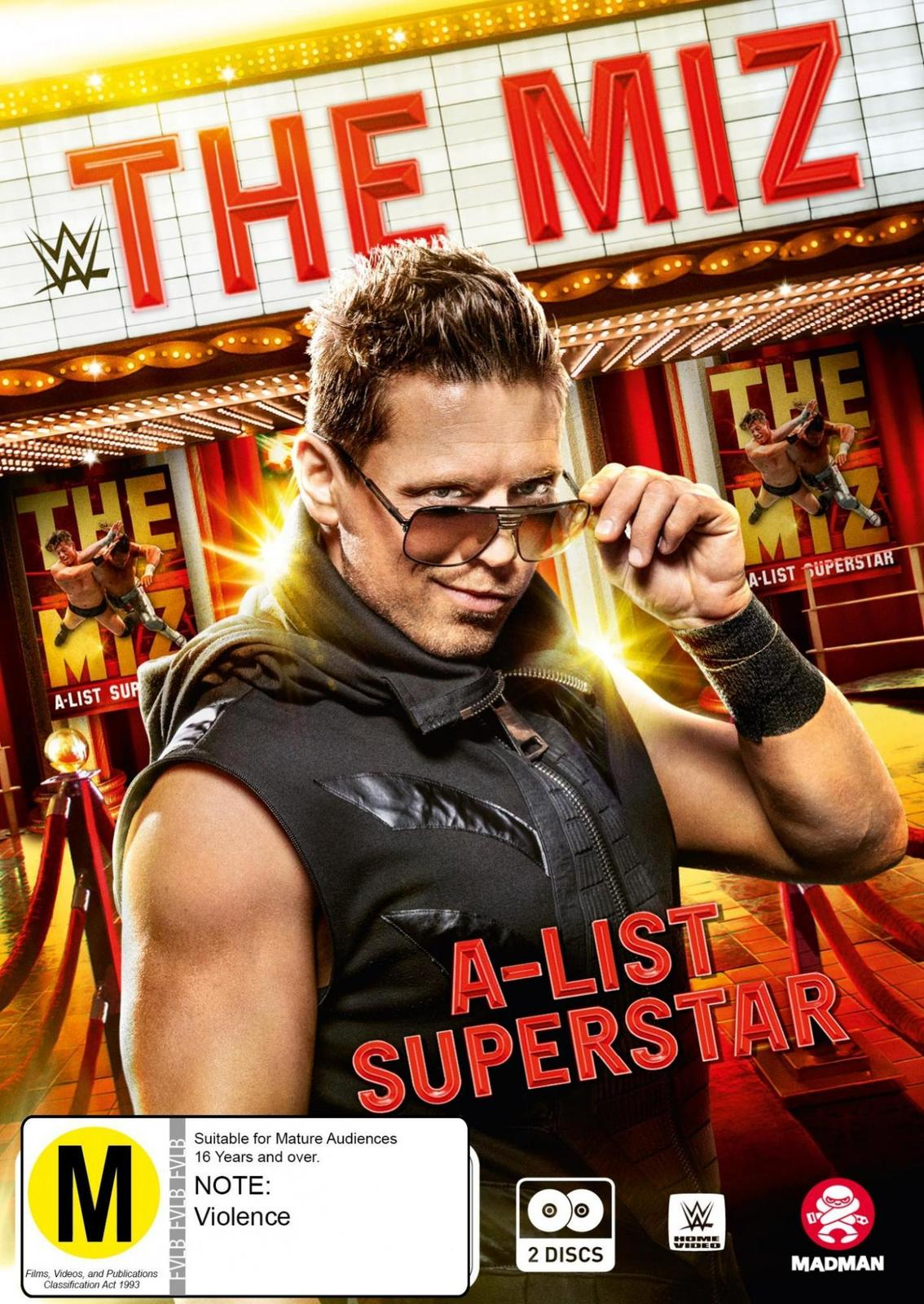 WWE: The Miz - A-list Superstar on DVD image