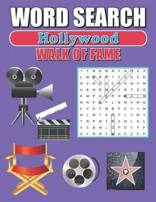 Word Search Hollywood Walk Of Fame by Greater Heights Publishing