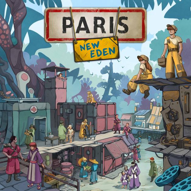 Paris: New Eden - Board Game