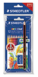 Staedtler NC Coloured Pencils with FREE BONUS