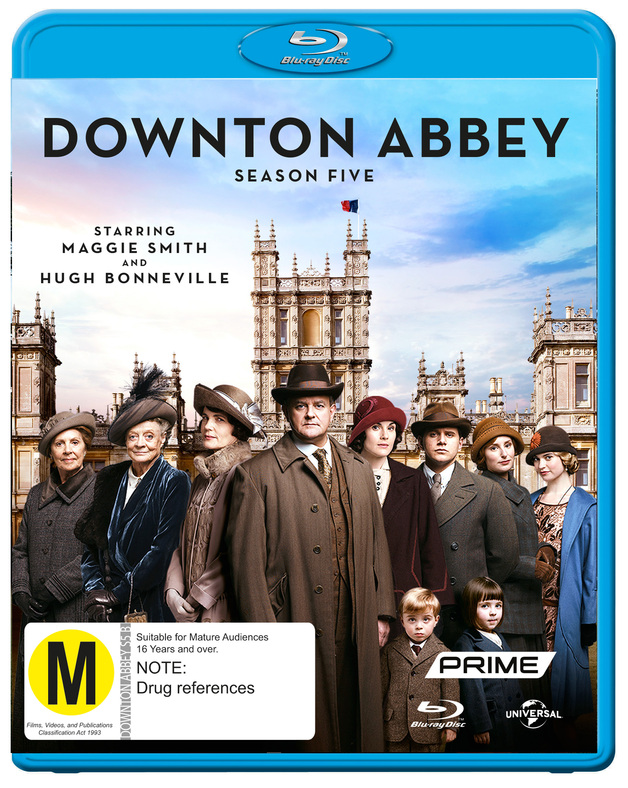 Downton Abbey - The Complete Fifth Season on Blu-ray