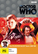 Doctor Who: Survival on DVD