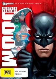 Justice League: Doom on DVD