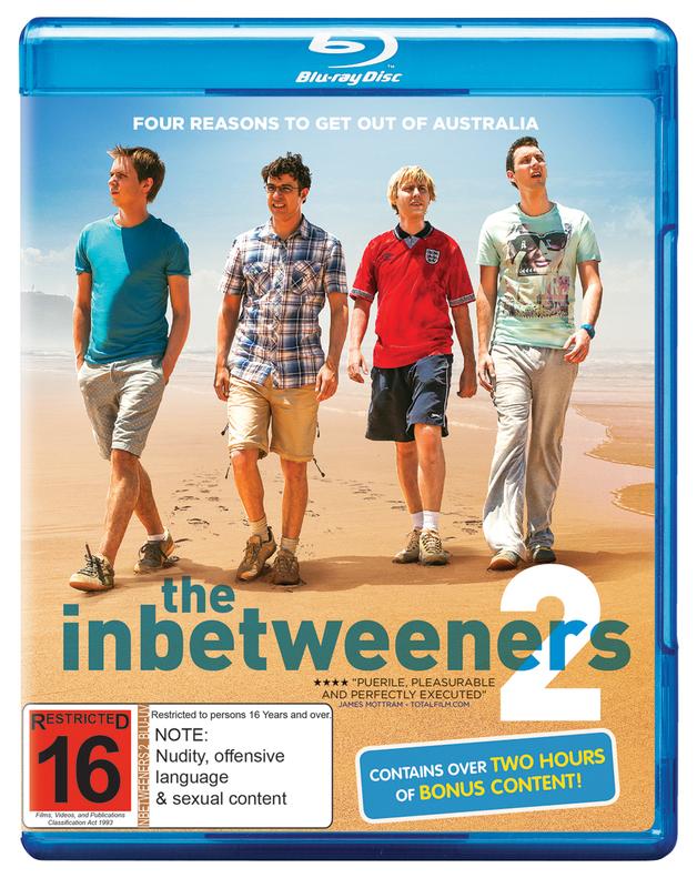 The Inbetweeners 2 on Blu-ray