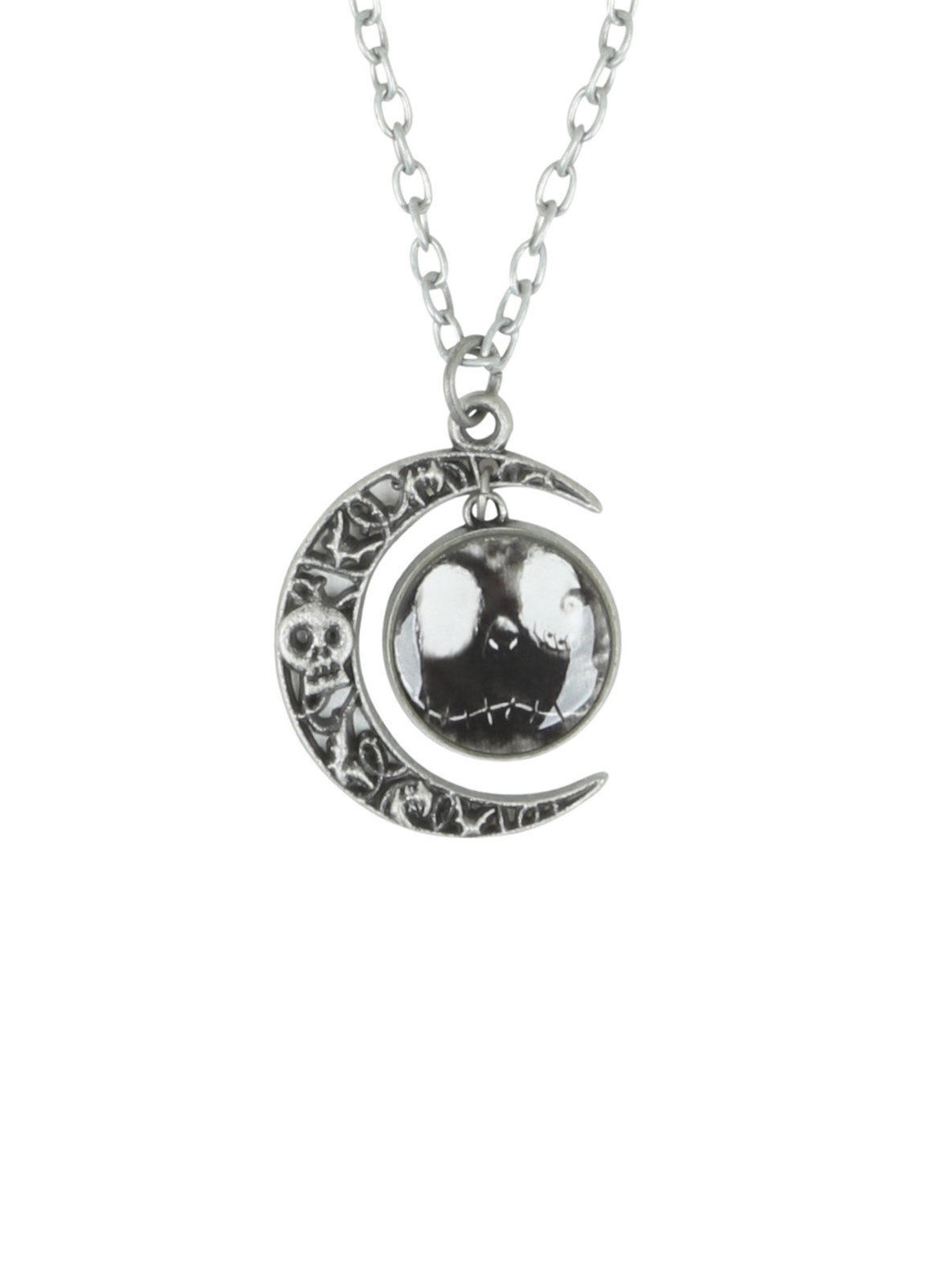Neon Tuesday: Nightmare Before Christmas - Jack & Moon Necklace image