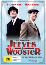 Jeeves And Wooster - Complete Series 2 (2 Disc Set) on DVD