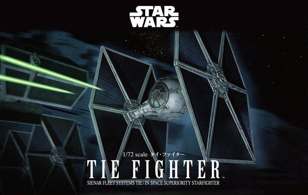 Star Wars 1/72 TIE Fighter - Scale Model Kit