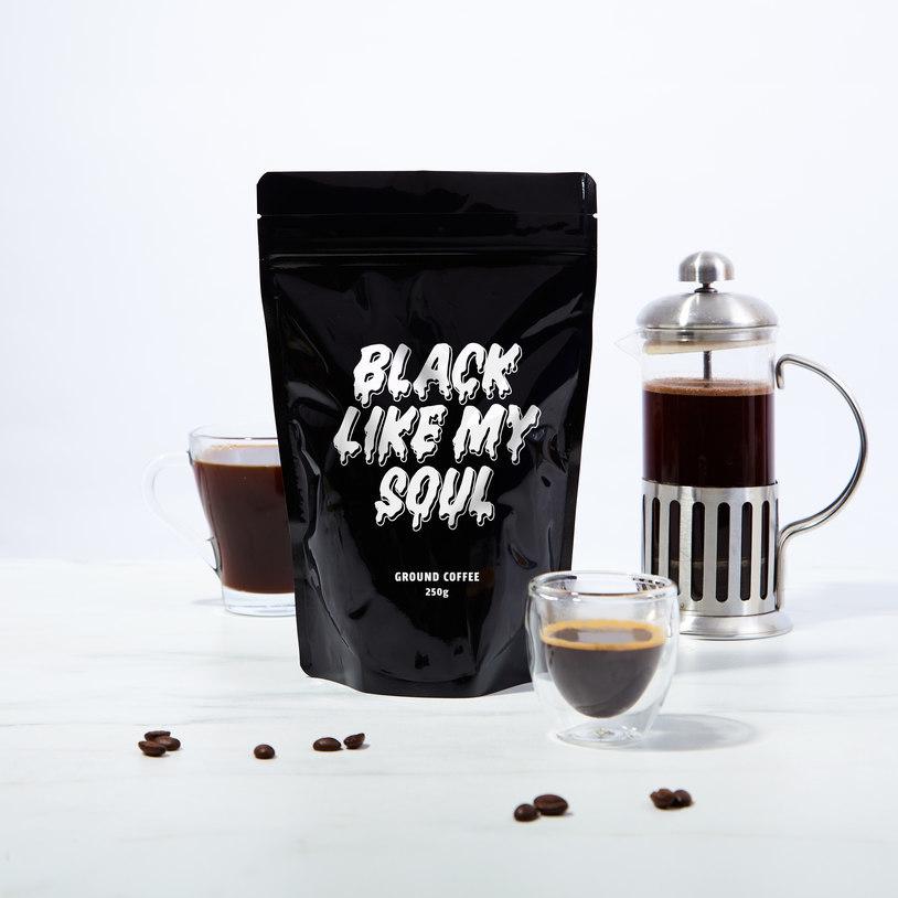 Black Like My Soul Coffee image