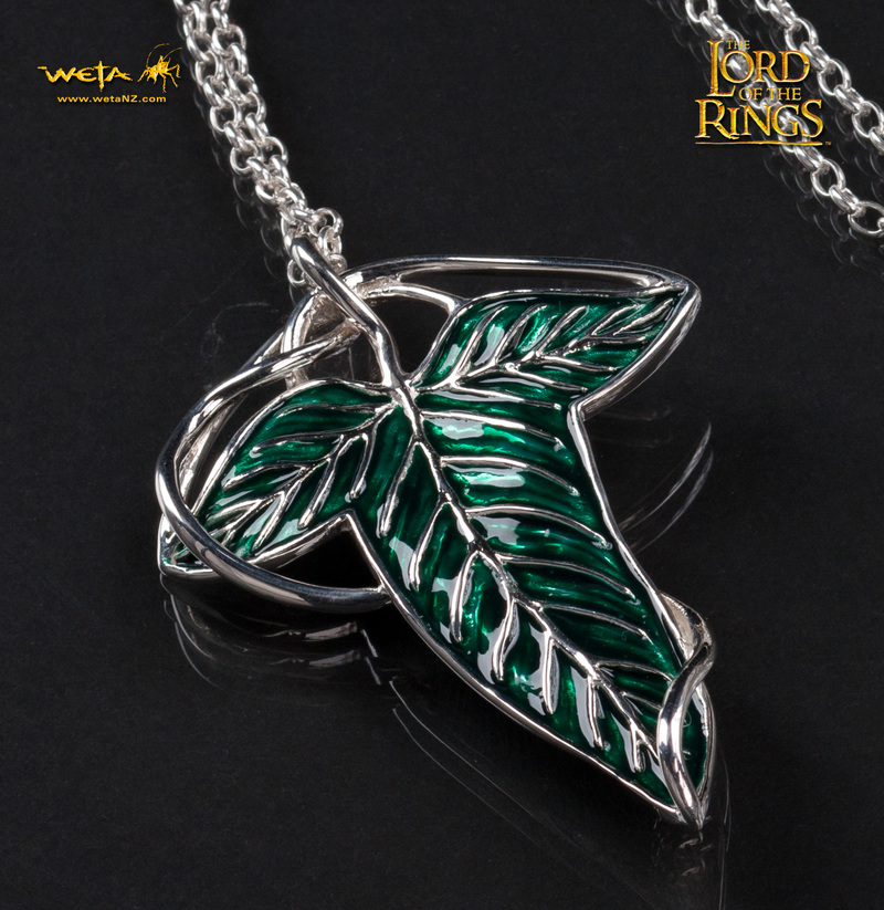 Lord of the Rings: Elven Leaf Brooch / Pendant by Weta image
