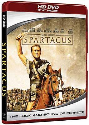 Spartacus on HD DVD