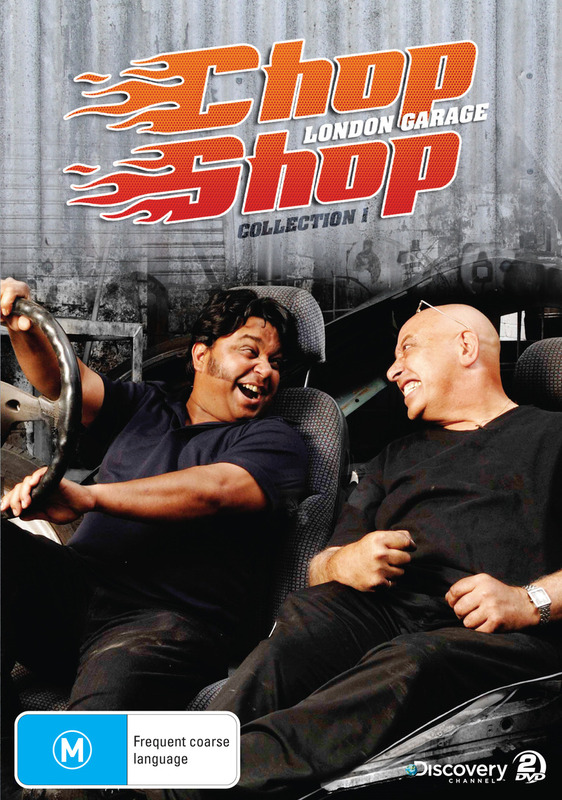 Chop Shop: London Garage - (Discovery Channel) on DVD