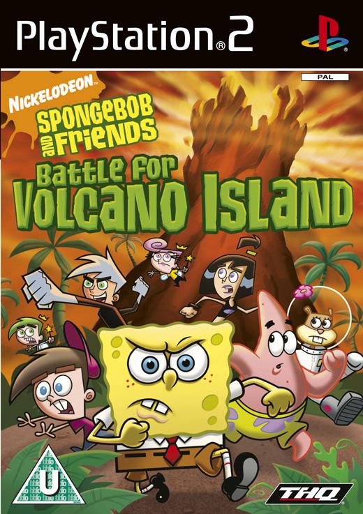SpongeBob SquarePants & Friends: Battle for Volcano Island for PlayStation 2 image