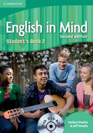 English in Mind Level 2 Student's Book with DVD-ROM: Level 2 by Herbert Puchta
