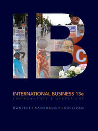 International Business by John Daniels image