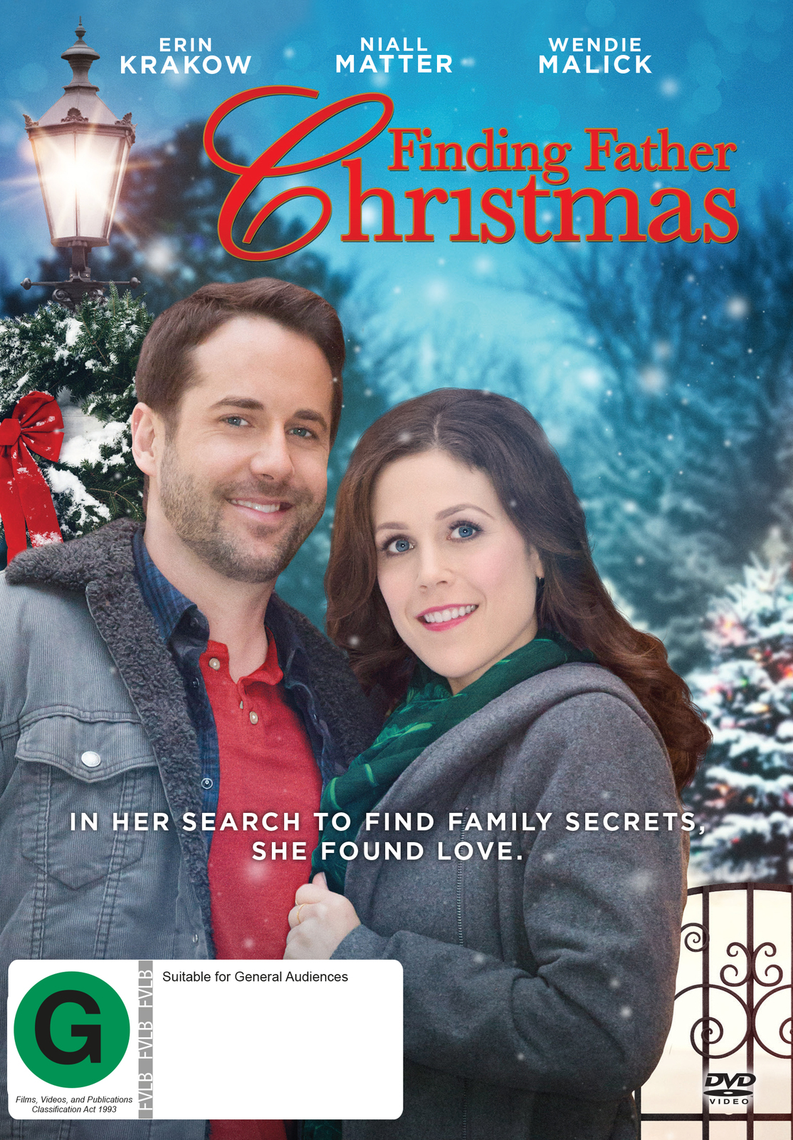 Finding Father Christmas on DVD image