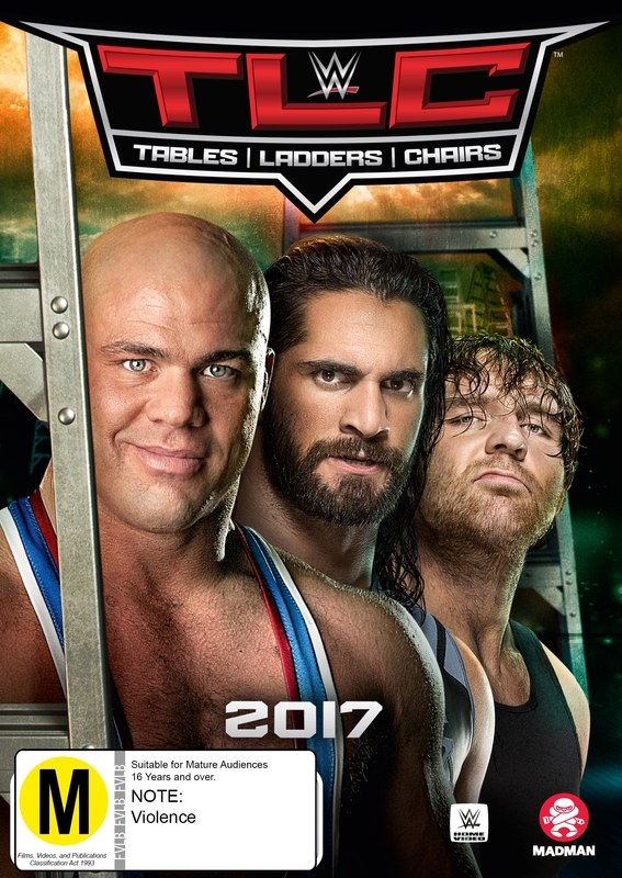 WWE: TLC - Tables, Ladders & Chairs 2017 on DVD