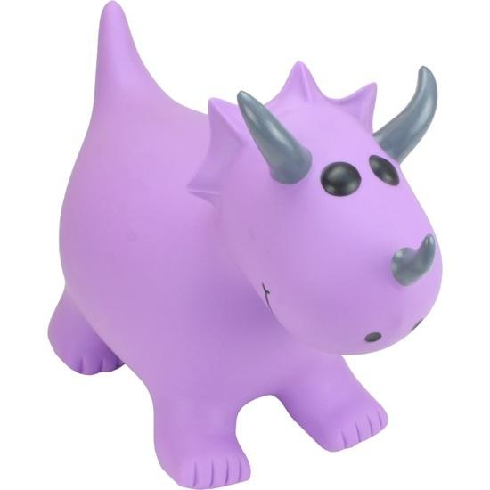 Happy Hopperz : Purple Triceratops
